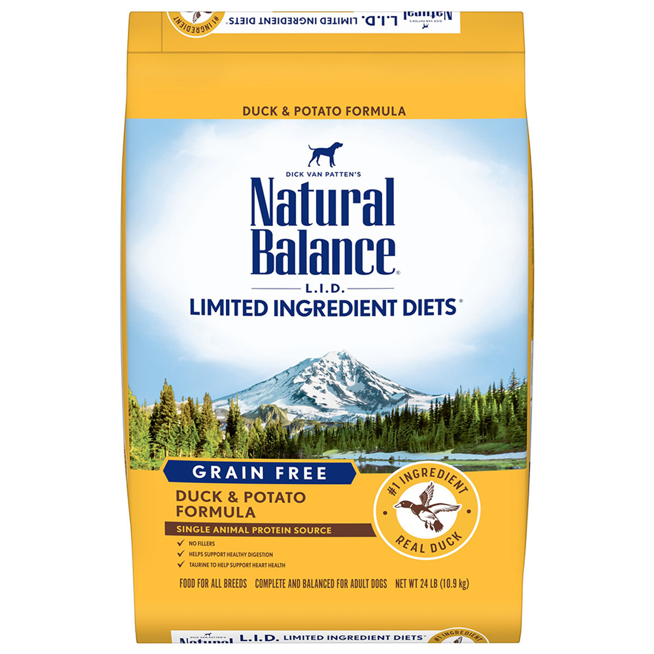 Natural Balance Limited Ingredient Diets Duck & Potato Formula Dry  Dog Food