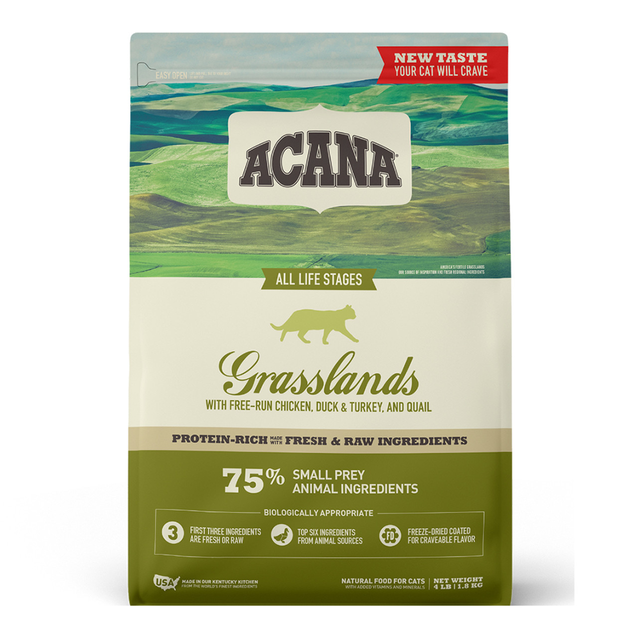 Acana Grasslands Dry Cat Food