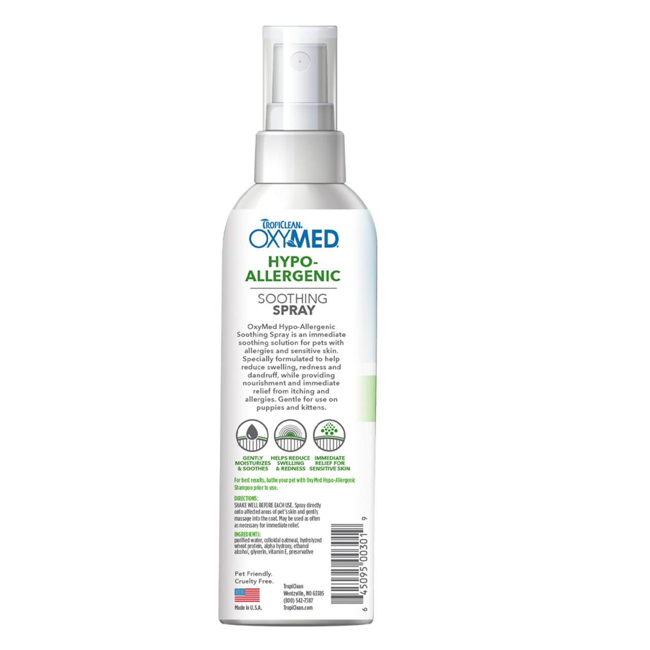 TropiClean OxyMed Hypo-Allergenic Cat & Dog Spray