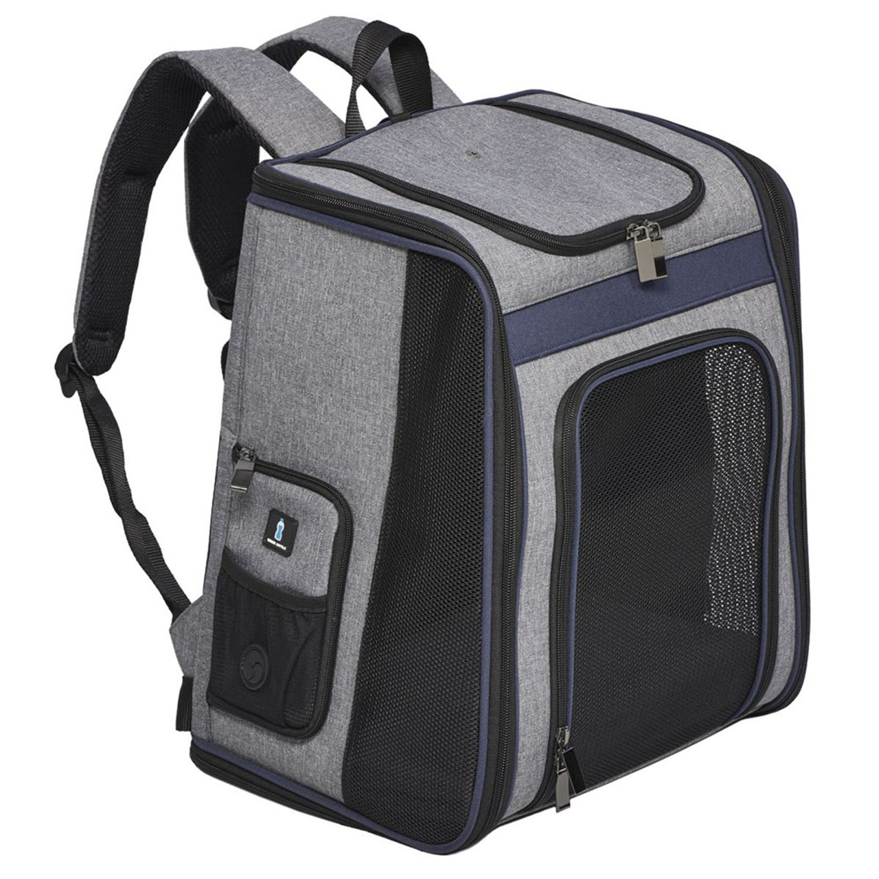 MidWest Day Tripper Gray Pet Backpack Carrier
