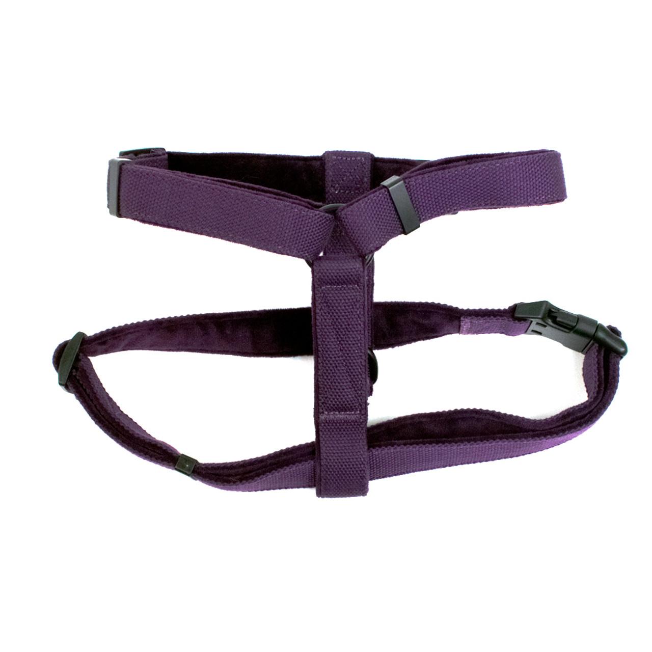 Fetch Your Own Adventure Eco-Friendly Woven Purple Dg Harness