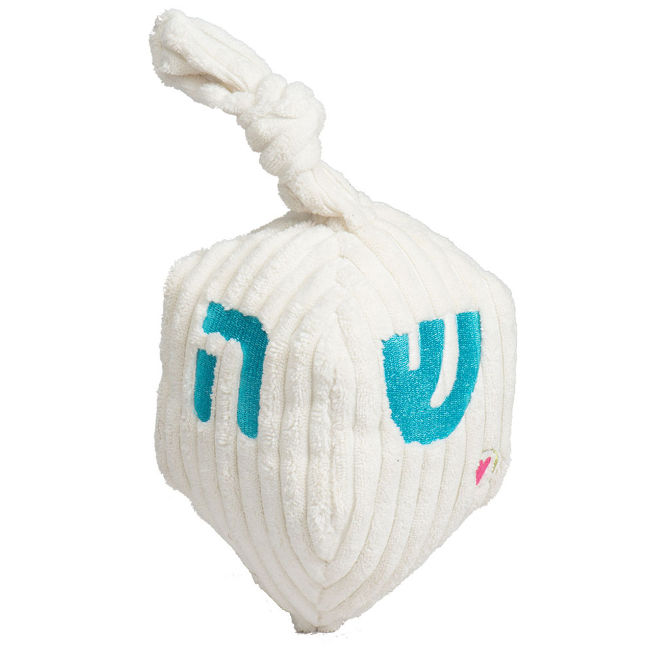 HuggleHounds Hanukkah Dreidel Plush Dog Toy