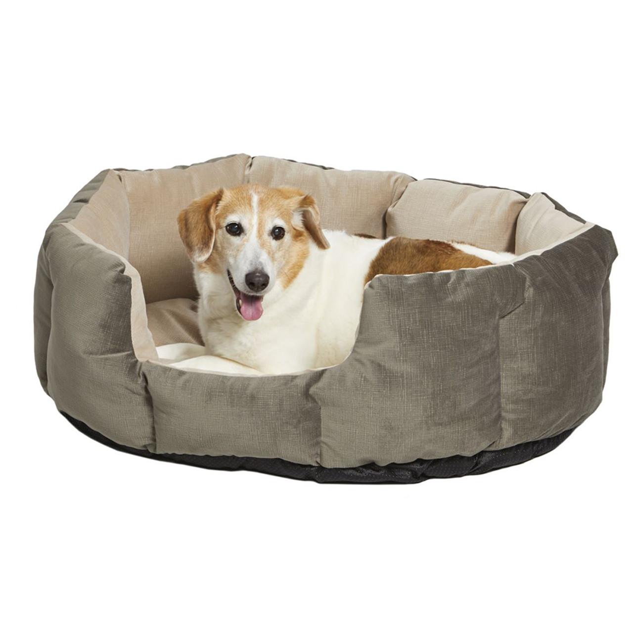 MidWest QuietTime Deluxe Evergreen Tulip Pet Bed