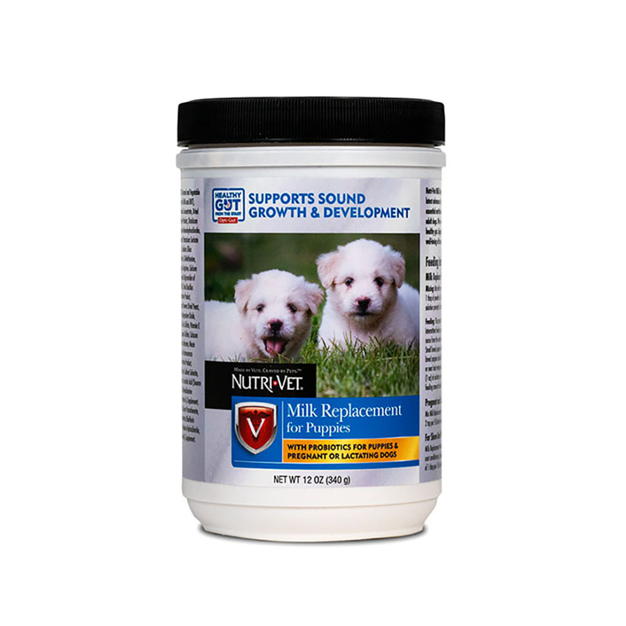Nutri-Vet Milk Replacer with Opti-Gut for Puppies