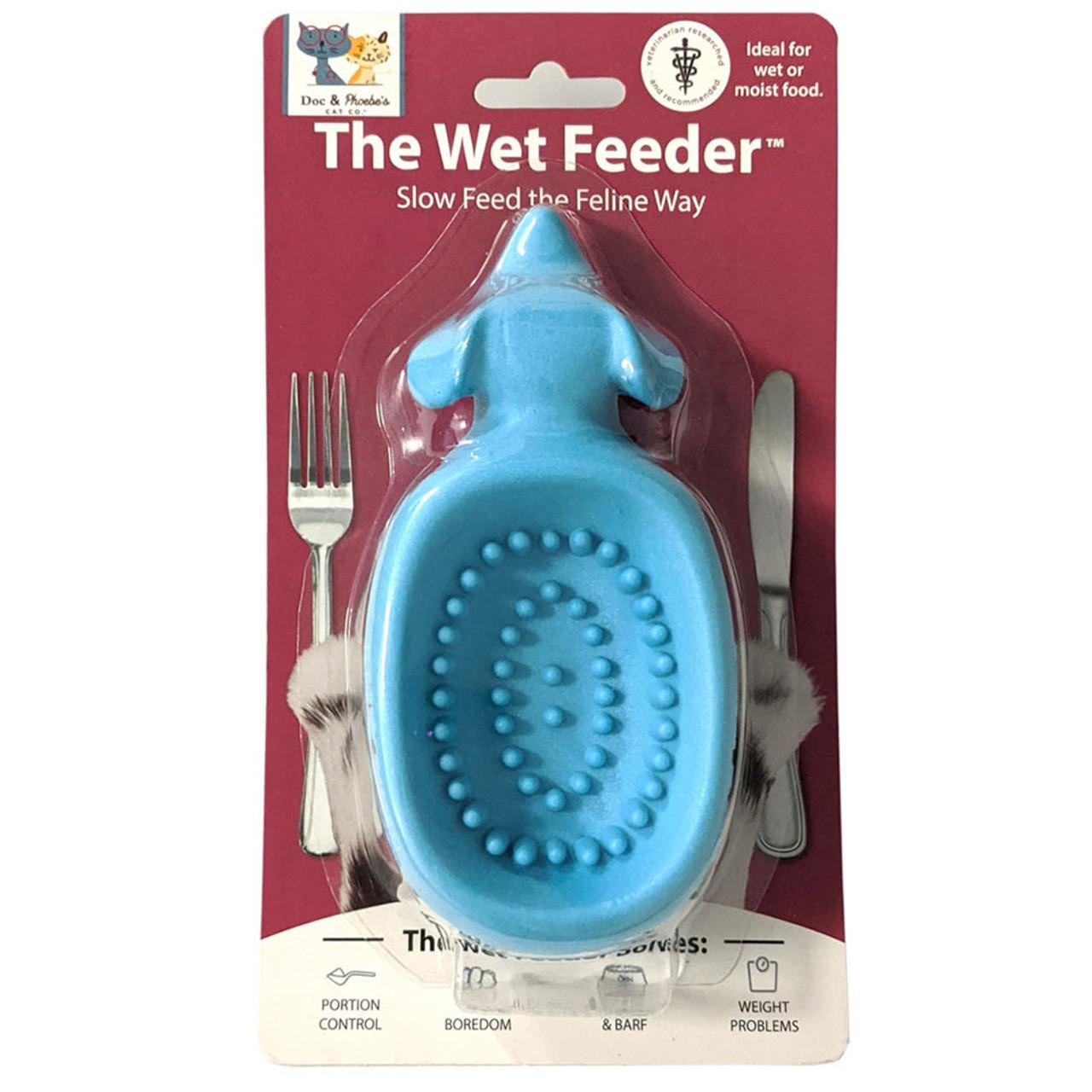 Doc & Phoebe's Wet Food Cat Feeder Cat Toy