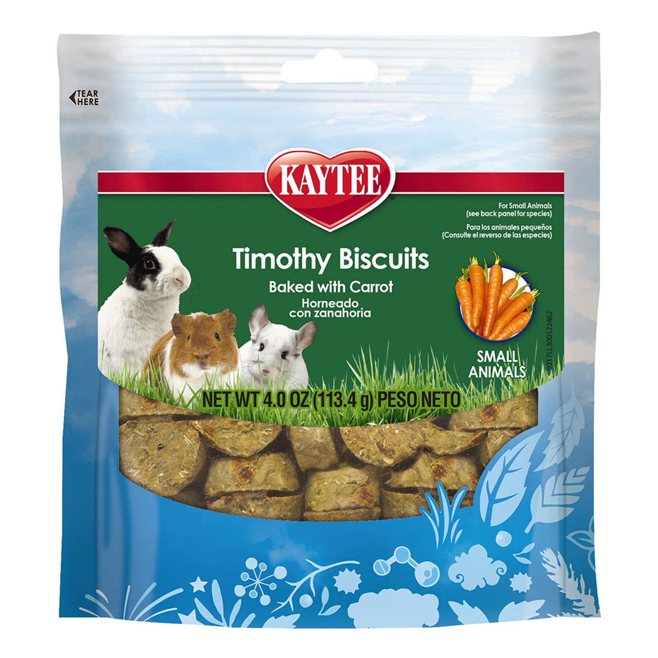 Kaytee Timothy Biscuits Baked Carrot Small Animal Treats