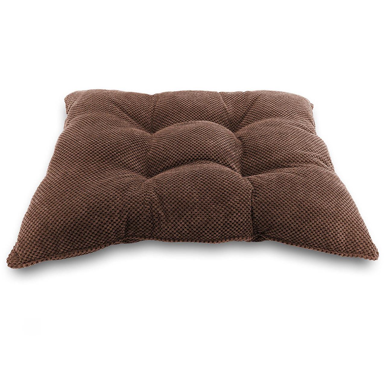 Pure Comfort Pillow Brown Dog Crate Mat