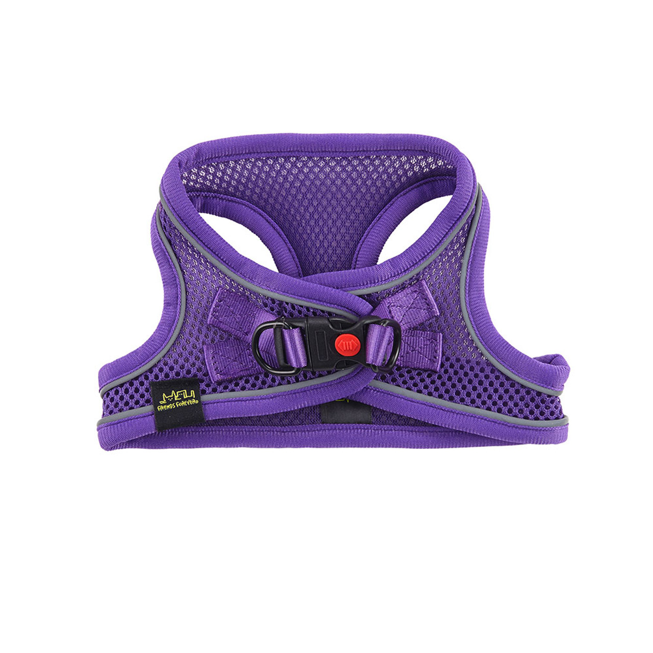 Friends Forever Mesh Reflective Dog Harness - Front
