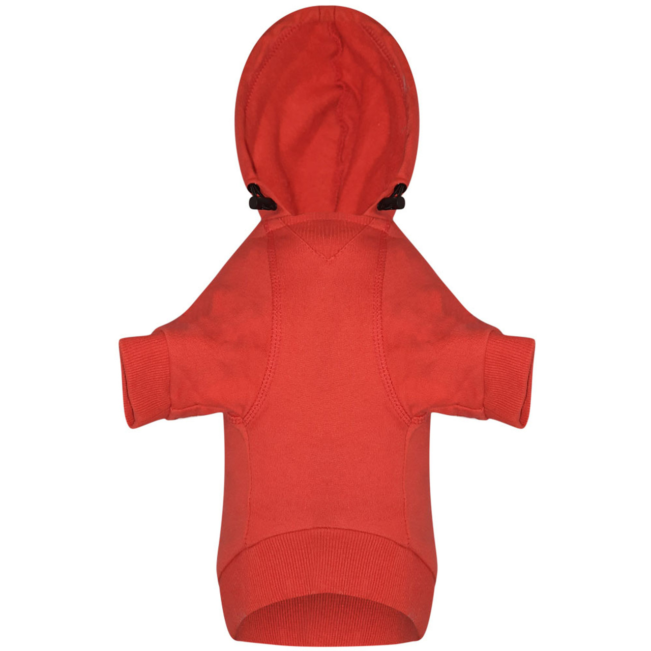 Snuggleton Red Dog Hoodie - Back