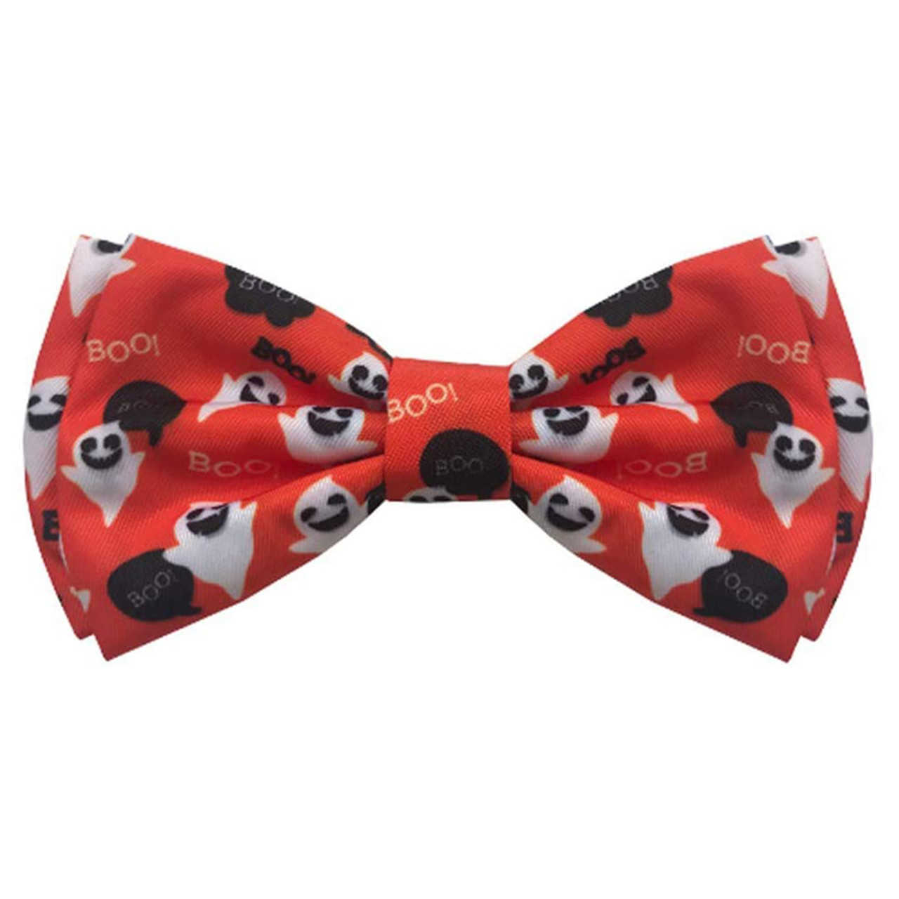 Huxley & Kent Halloween Ghost Pet Bow Tie - Front
