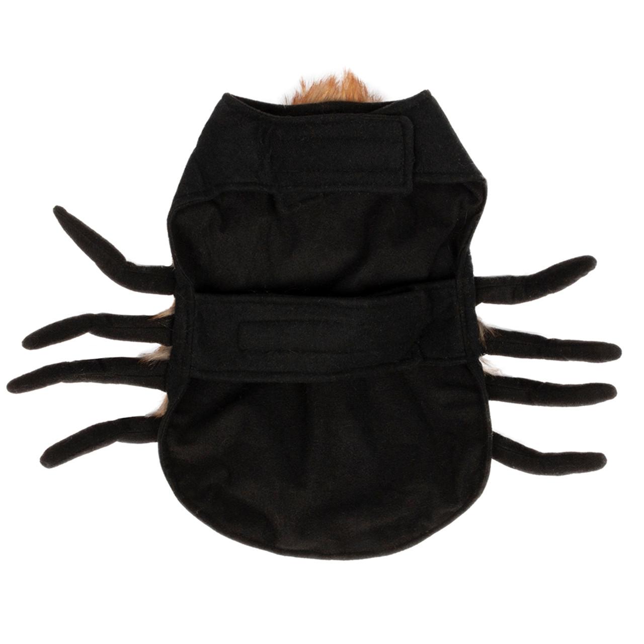 SimplyDog Halloween Spider Dog Costume - Back