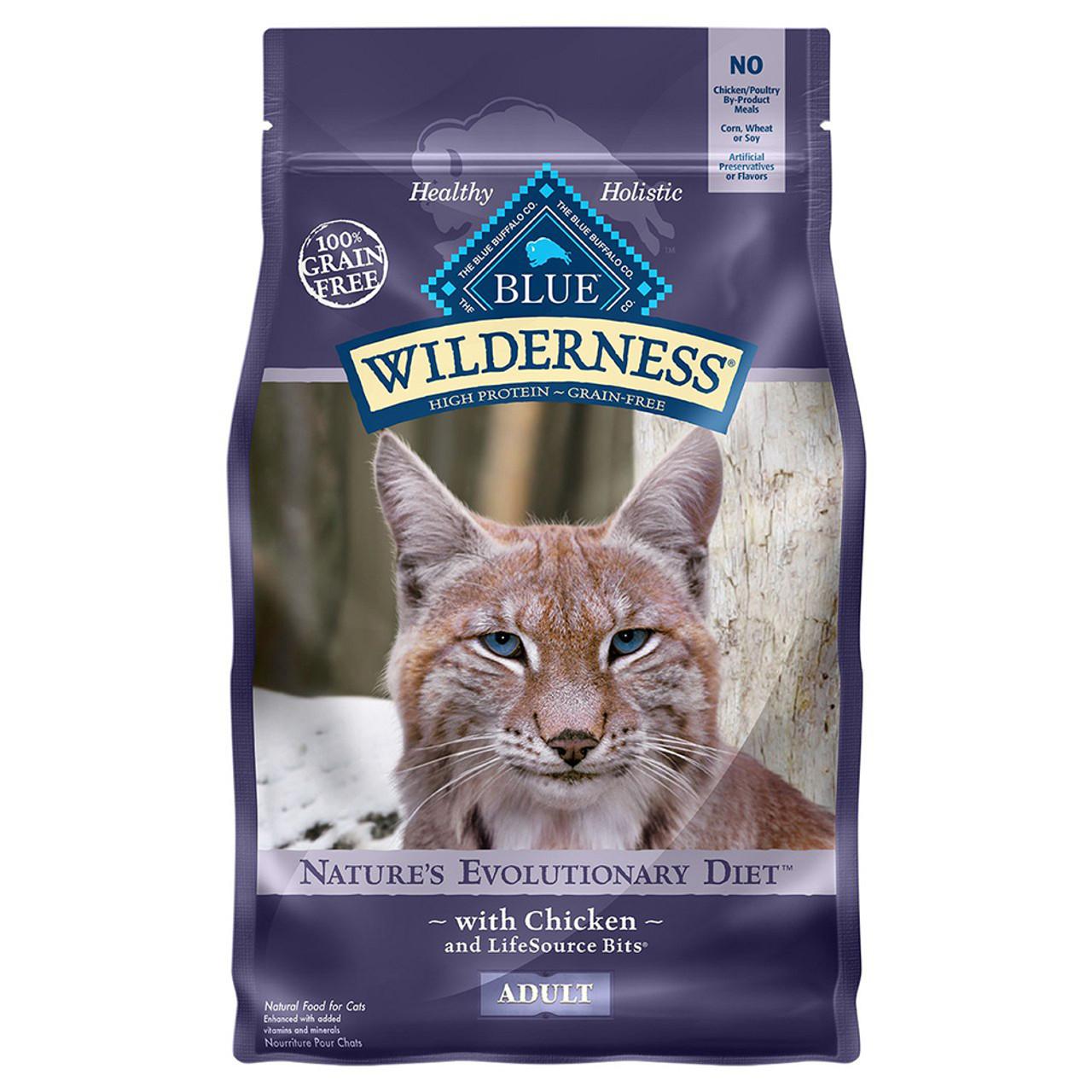 Blue Wilderness Adult Chicken Dry Cat Food