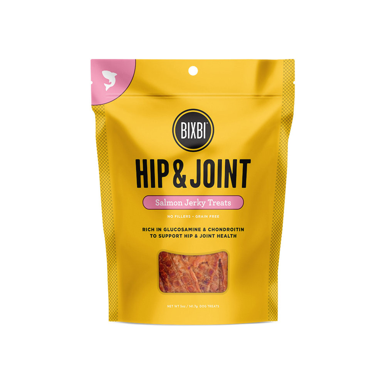 Bixbi Hip & Joint Salmon Jerky Dog Treats