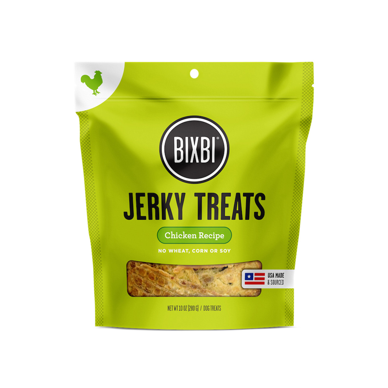 Bixbi Chicken Recipe Jerky Dog Treats