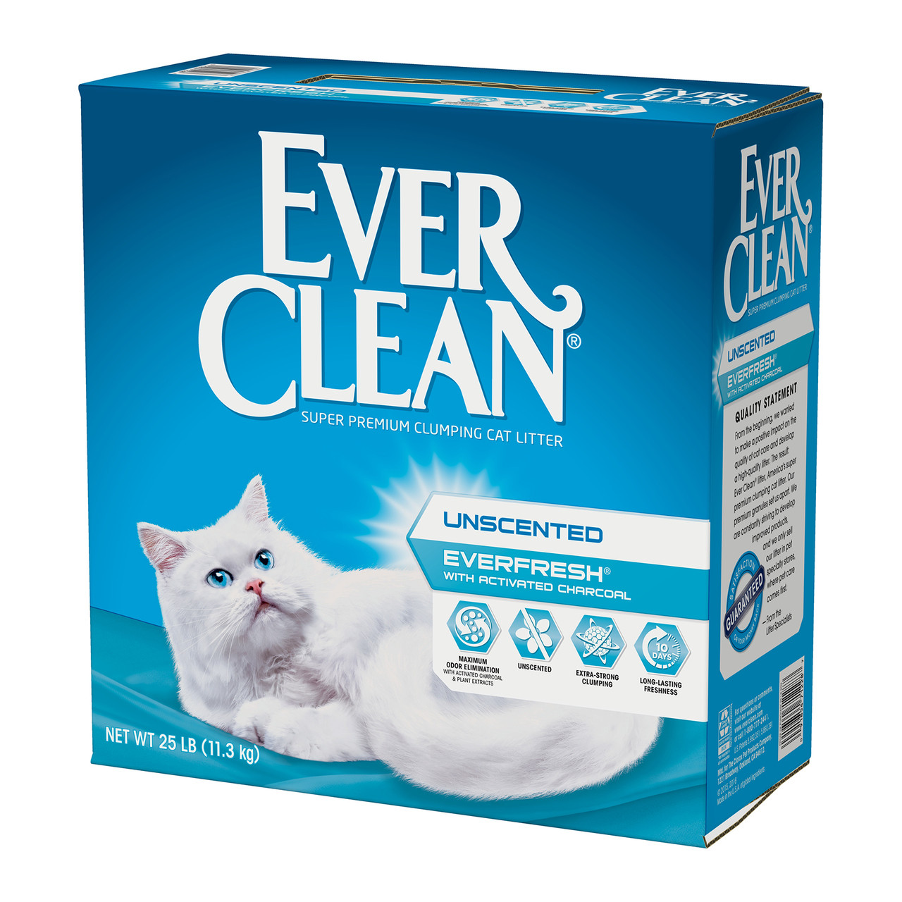 EverFresh with Activated Charcoal Unscented Cat Litter