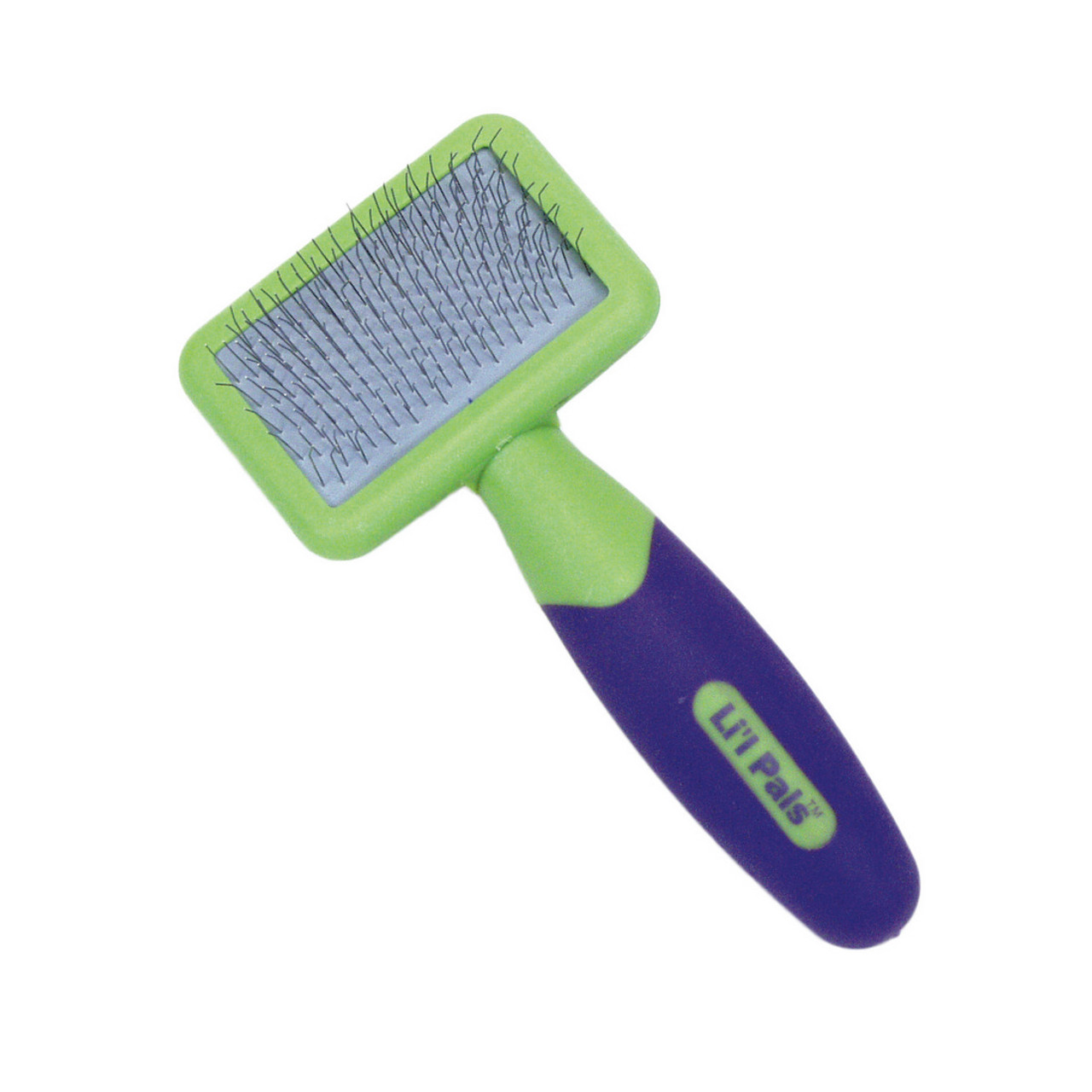 Li'l Pals Dog Slicker Brush with Coated Tips
