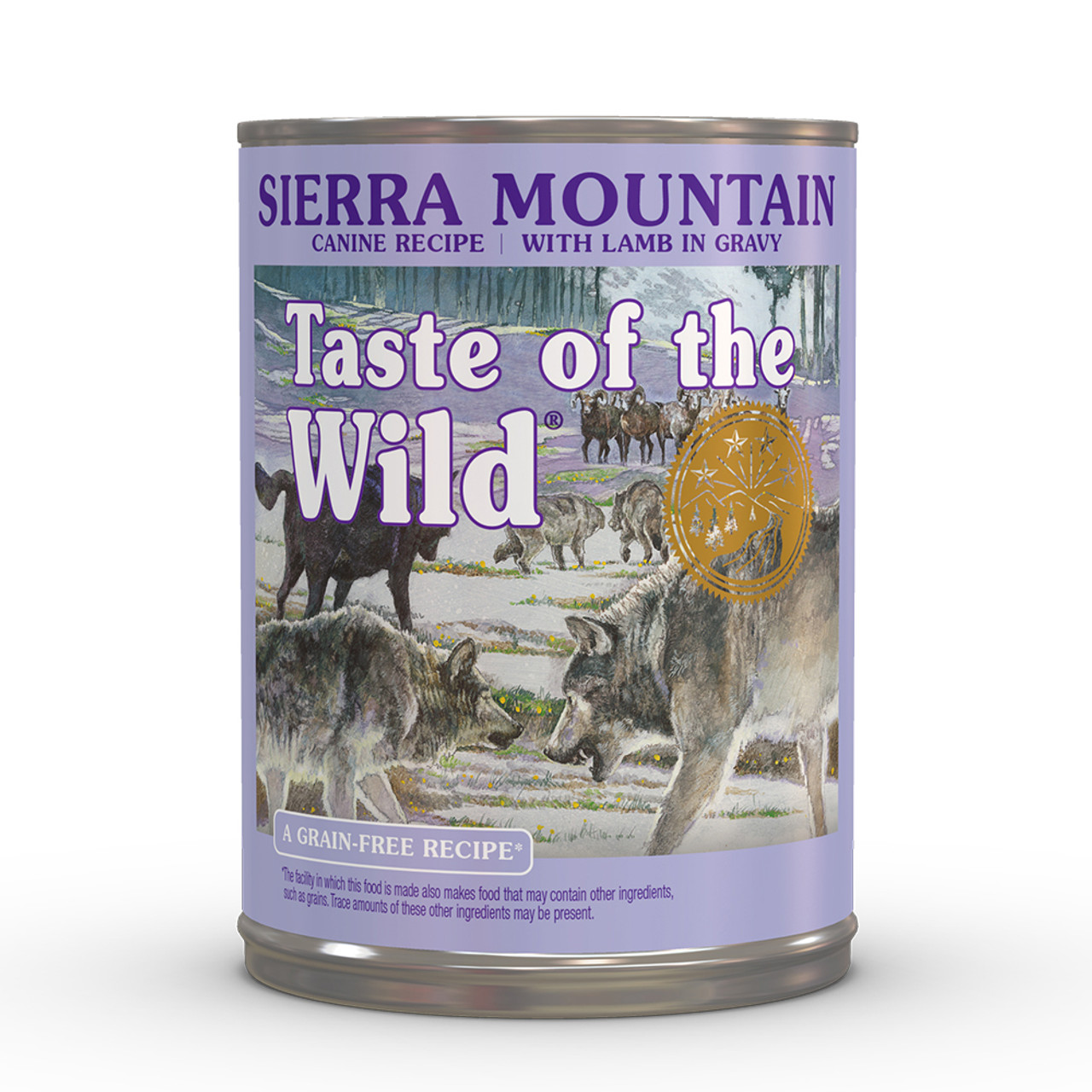 Taste of the Wild Sierra Mountain Canine Formula Canned Dog Food - Front