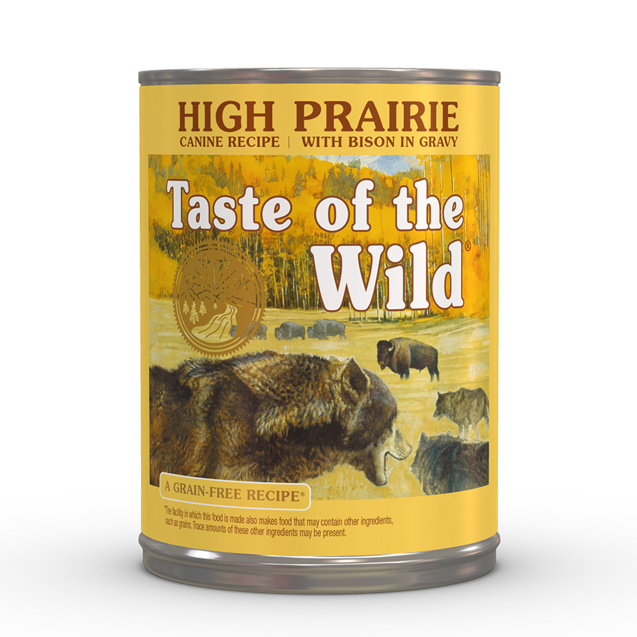 Taste of the Wild High Prairie Canine Formula Canned Dog Food - Front