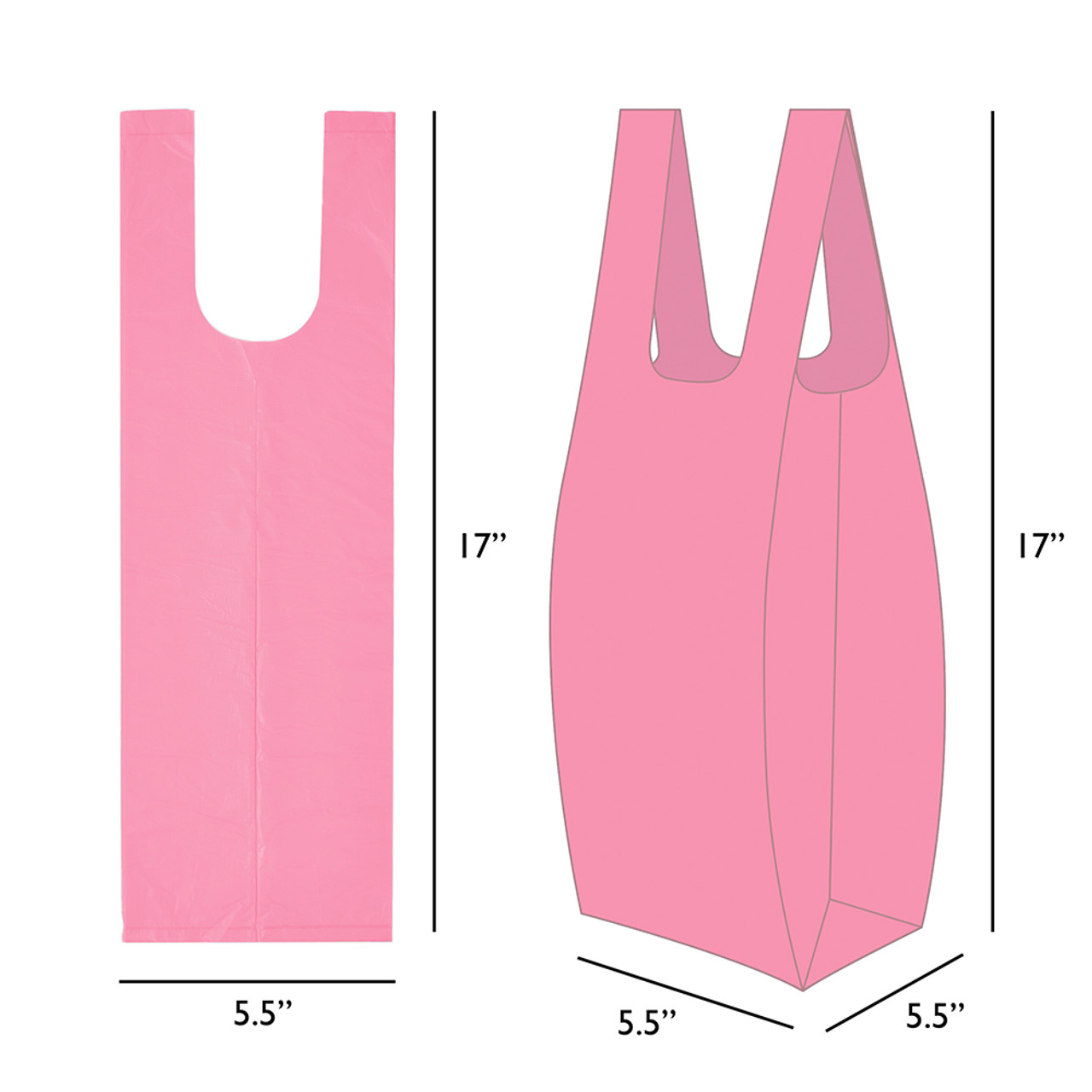Poo Smart Dog Waste Disposal Bags with Tie Handles
