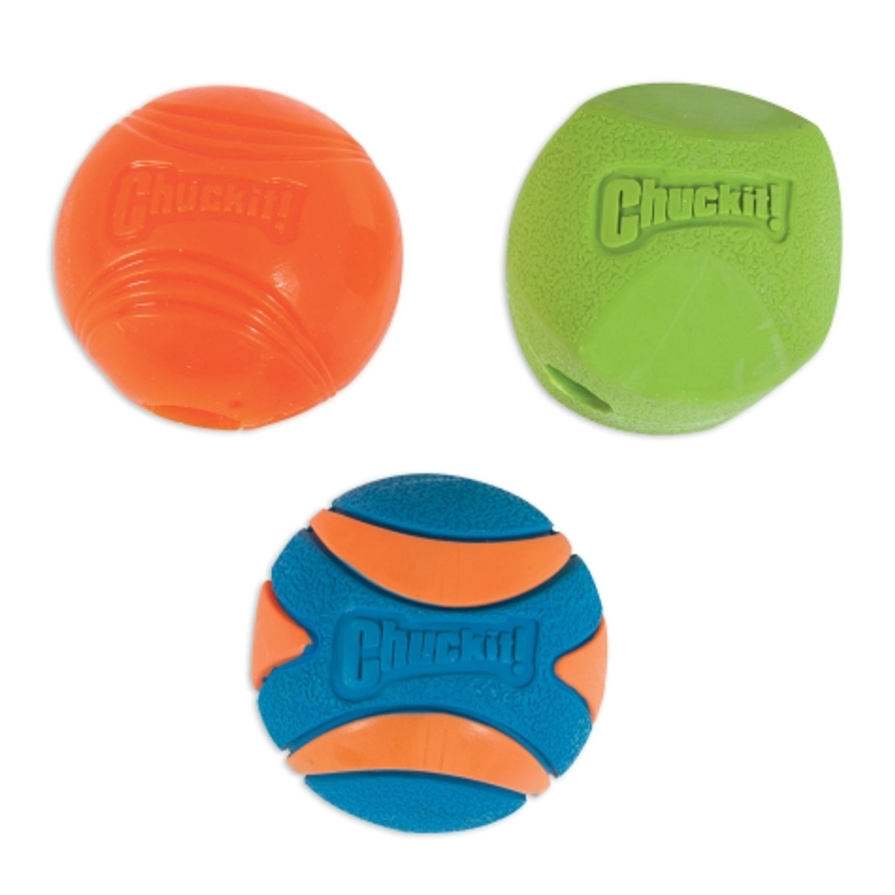 Chuckit! Fetch Medley 2 Triple Pack Ball Dog Toy