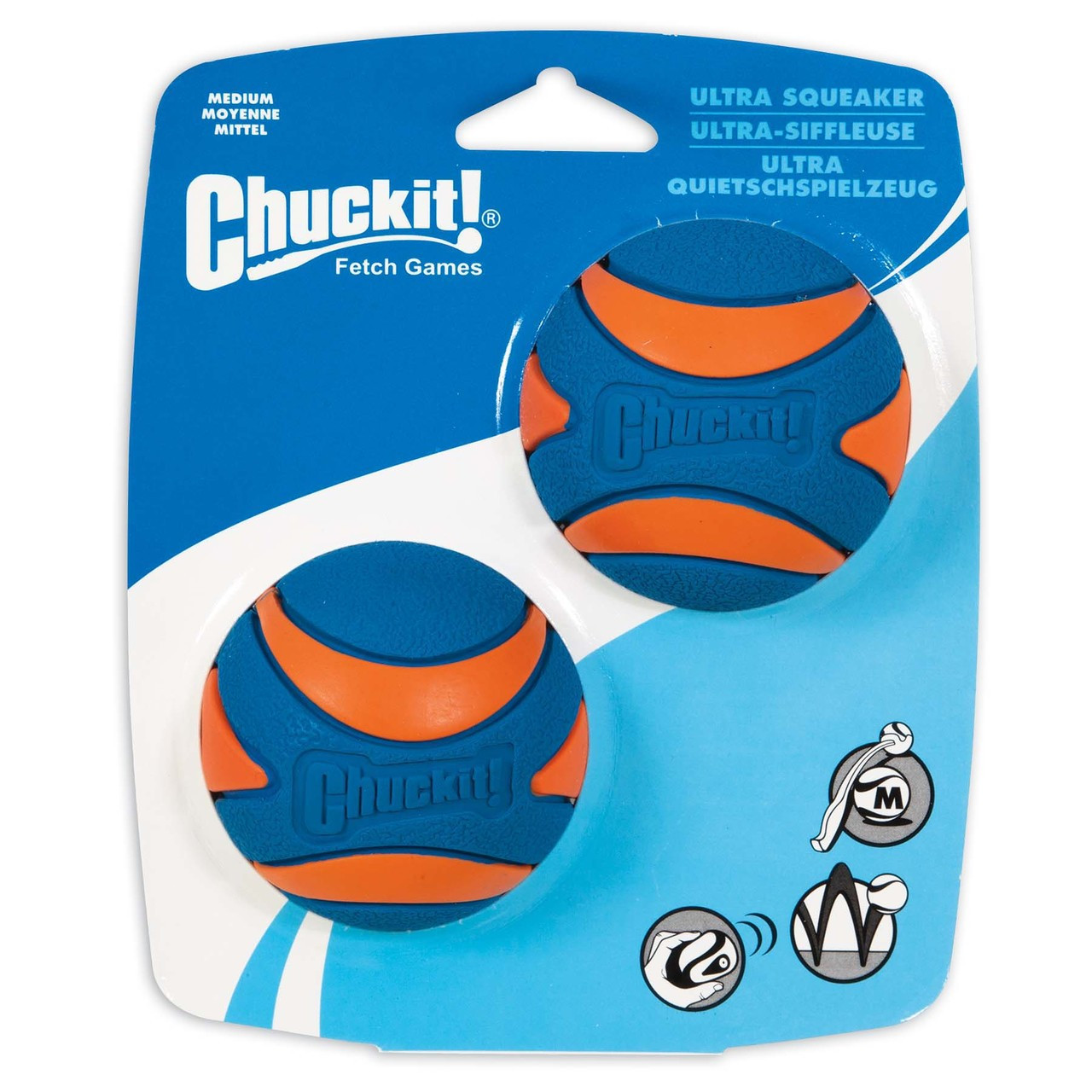 Chuckit! Ultra Squeaker Ball Dog Toy