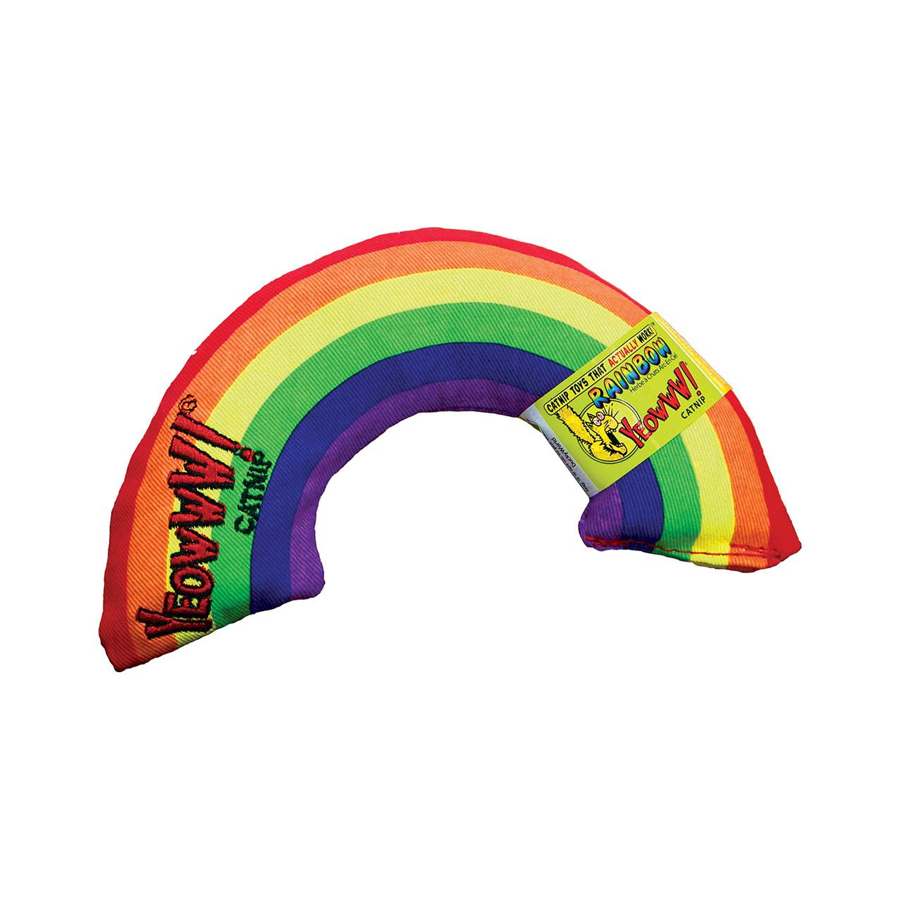 YEOWWW! Rainbow Catnip Filled Cat Toy