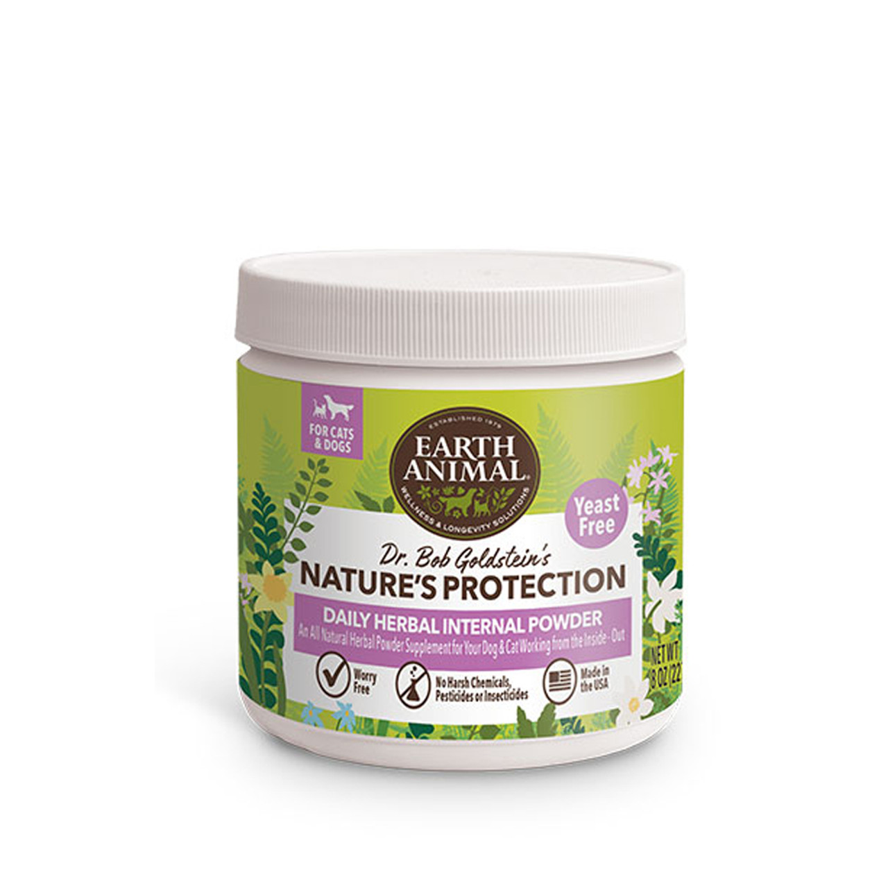 Dr. Bob Goldstein's Nature's Protection Daily Herbal Internal Powder - Yeast Free