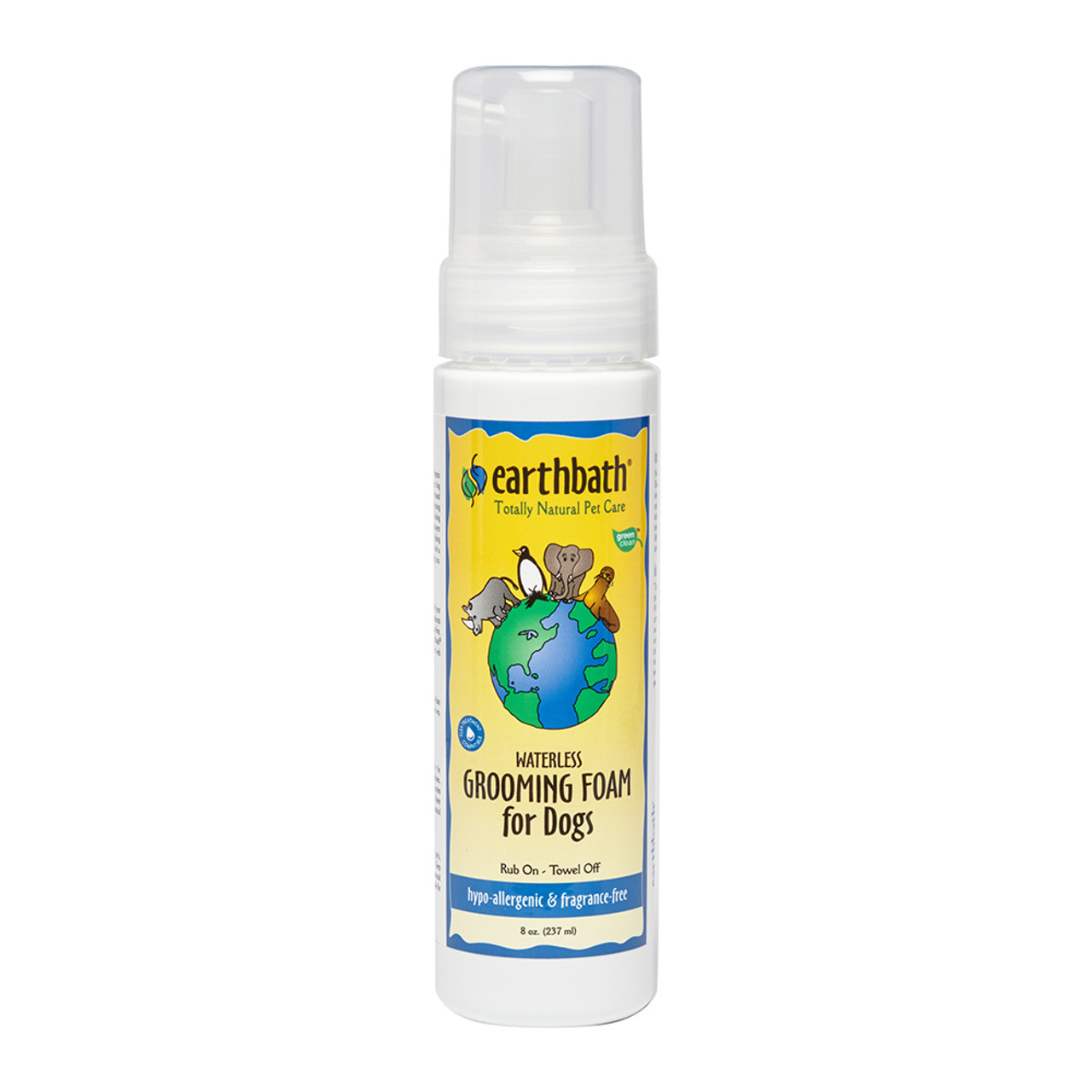 Earthbath Hypo-Allergenic Grooming Foam for Dogs