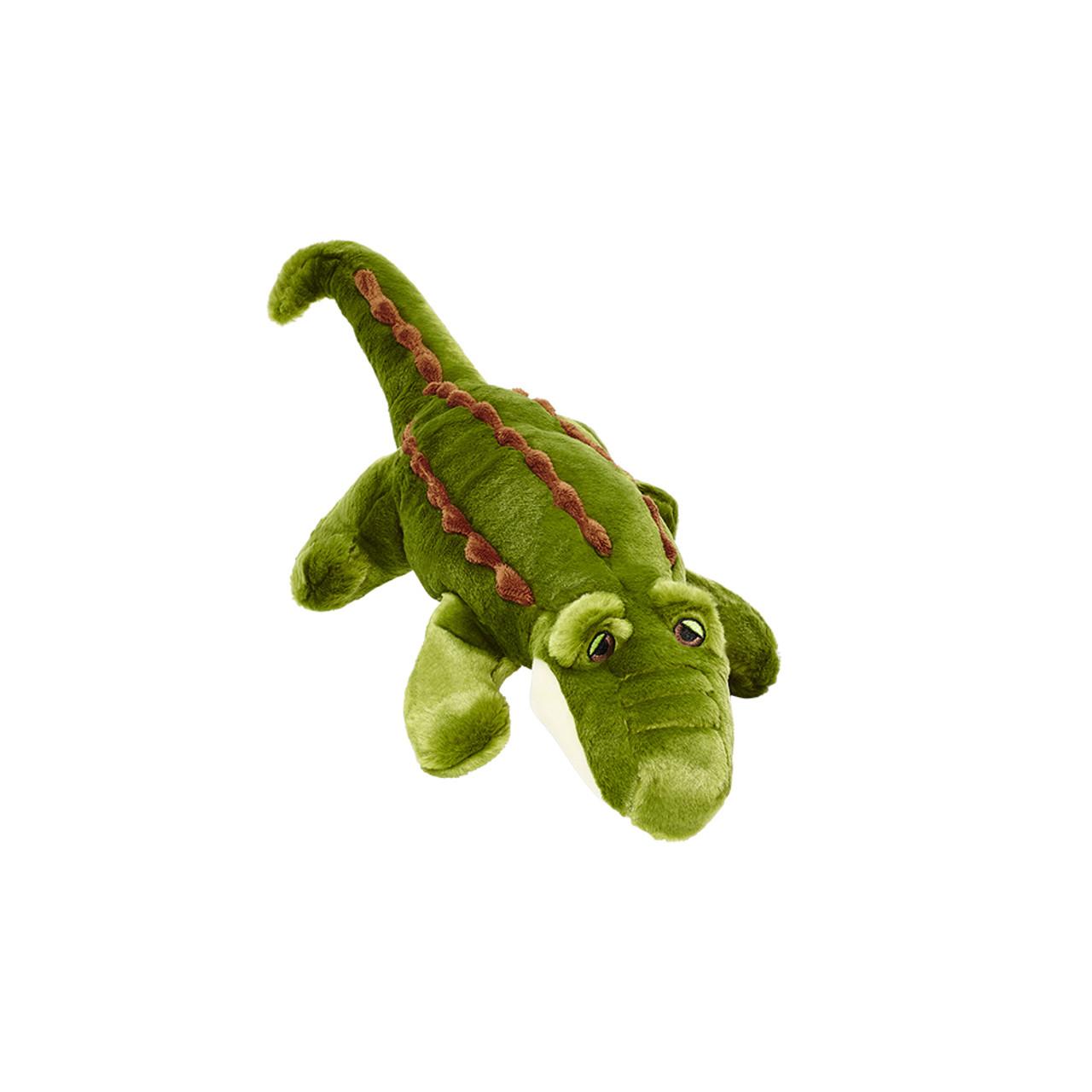Fluff & Tuff Big Daddy Gator Plush Dog Toy