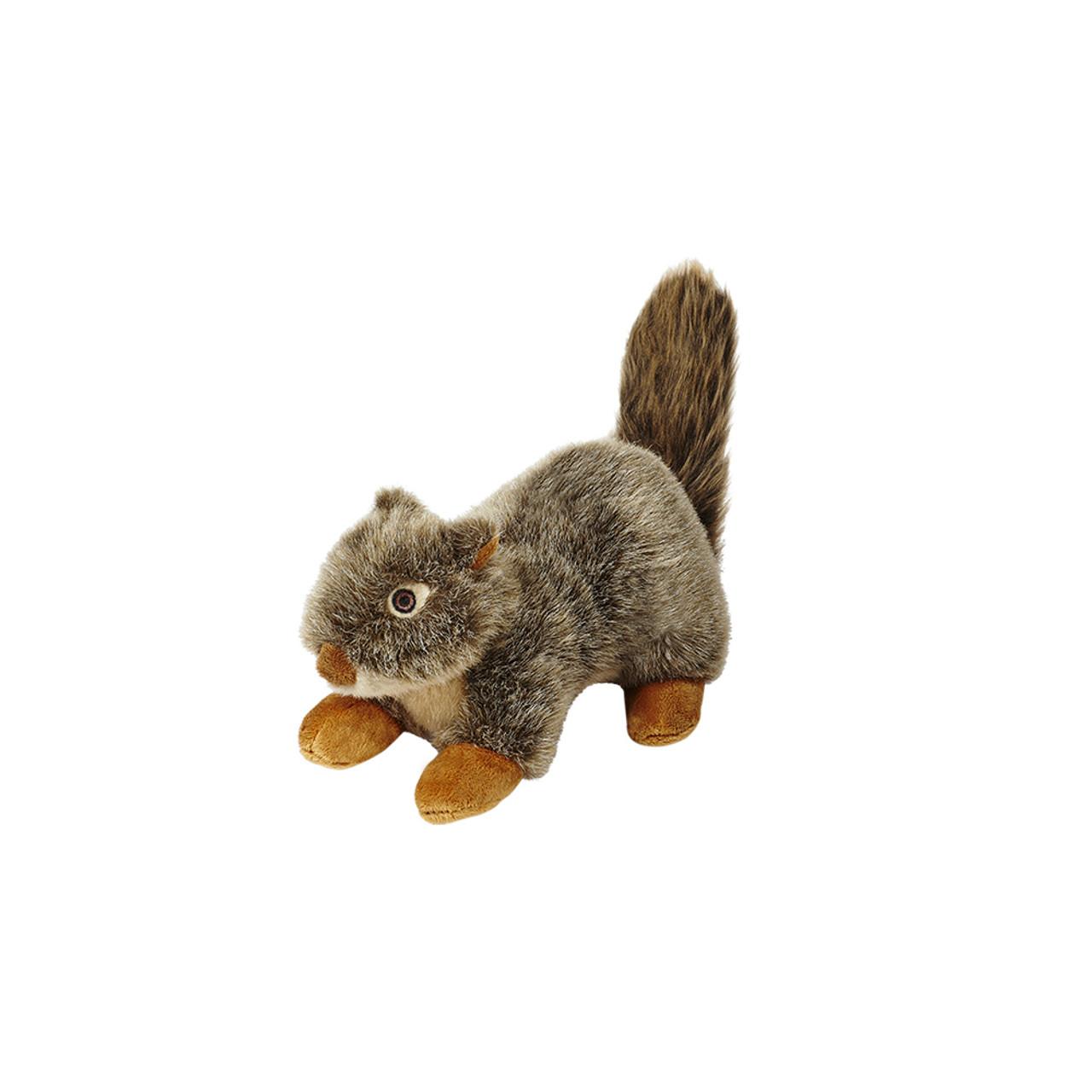 Fluff & Tuff Nuts Squirrel Plush Dog Toy