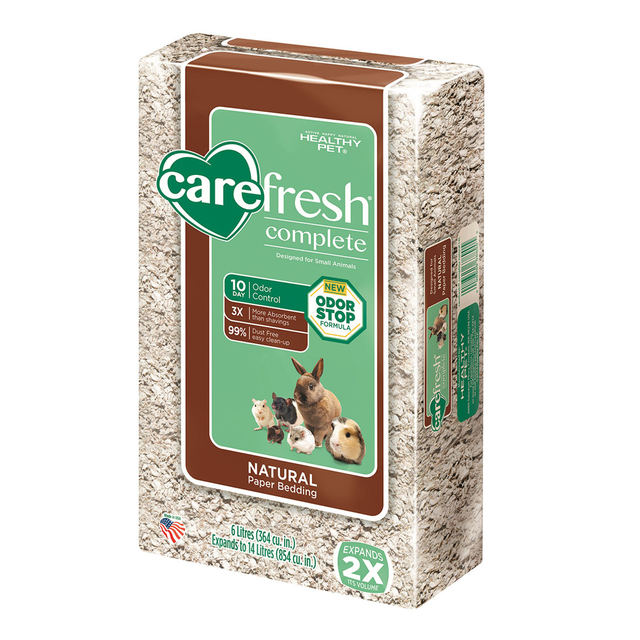 Carefresh Complete Natural Paper Bedding for Small Animals