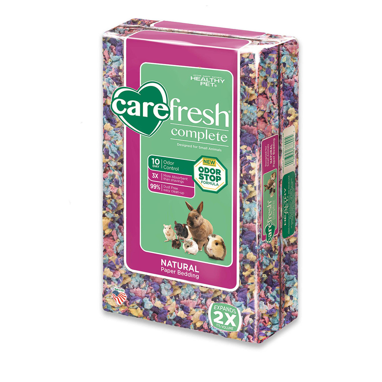 Carefresh Complete Colors Natural Paper Small Animal Bedding