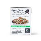 JustFoodForDogs Pantry Fresh Chicken & White Rice Wet Dog Food - Front