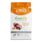 PureVita Venison & Lentils Grain Free Entree Dry Dog Food