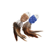 Kong Natural Crinkle Fish Cat Toy