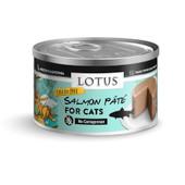 Lotus Salmon Pate Recipe Canned Cat Food