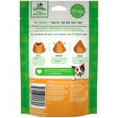 Greenies Original Pill Pockets Chicken Flavor Dog Treats - Back