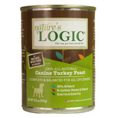 Nature's Logic Canine Turkey Feast Canned Dog Food