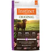 Instinct Original Grain-Free Recipe with Real Rabbit Dry Dog Food