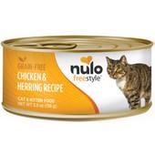 Nulo Freestyle Cat & Kitten Chicken & Herring Recipe Canned Cat Food