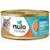 Nulo Freestyle Cat & Kitten Minced Salmon & Turkey Recipe in Gravy Canned Cat Food