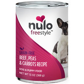 Nulo Freestyle Adult Beef, Peas & Carrots Recipe Canned Dog Food