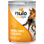 Nulo Freestyle Adult Chicken, Carrots & Peas Canned Dog Food