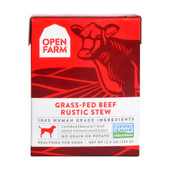 Open Farm Grass-Fed Beef Rustic Stew Wet Dog Food Tetra Pack