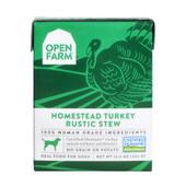 Open Farm Homestead Turkey Rustic Stew Wet Dog Food Tetra Pack