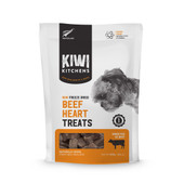 Kiwi Kitchens Raw Freeze Dried Beef Heart Dog Treats