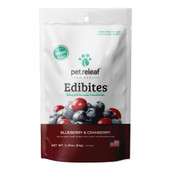 Pet Releaf Blueberry Cranberry Dog Edibites