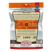 Primal Beef Formula Raw Freeze-Dried Dog Food - Back