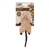 All for Paws Jumbo Crinkle Catnip Rodent - Caramel