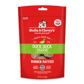 Stella & Chewy's Duck Duck Goose Patties Freeze-Dried Raw Dog Food